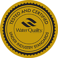 Water Quality Association Gold Seal Certified